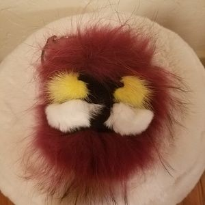 Other - Inspired monster fur charm keychain